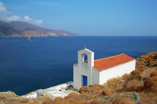 Andros Photograph - Chapel, Hora, Andros Island, Cyclades by Tuul / Robertharding