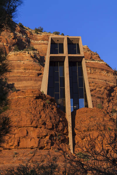 Photograph - Chapel In The Rock by Ed Gleichman