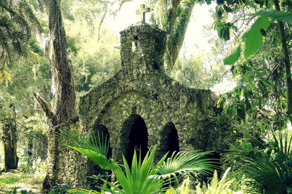 Chape Wall Art - Photograph - Chapel In The Woods by Laurie Perry