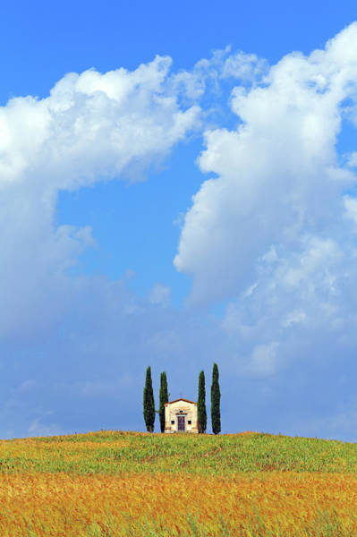 Tuscany Photograph - Chapel In Tuscany by Mammuth
