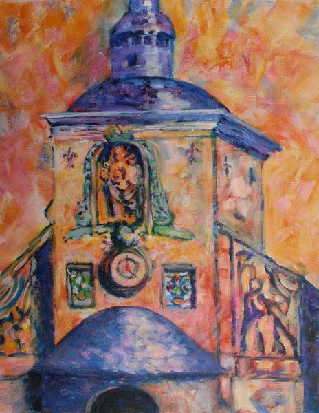 Painting - Chapel Of Grace by Tara Moorman