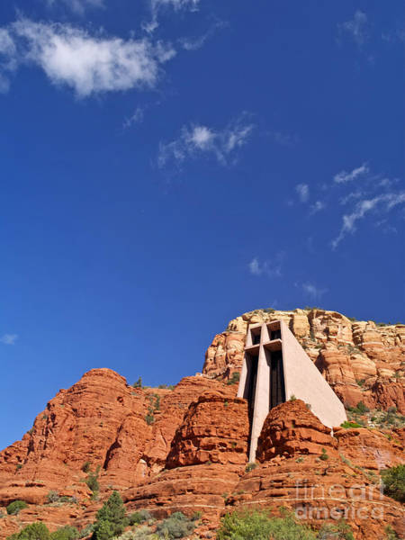 Red Rocks Of Sedona Photograph - Chapel Of The Holy Cross by Alex Cassels
