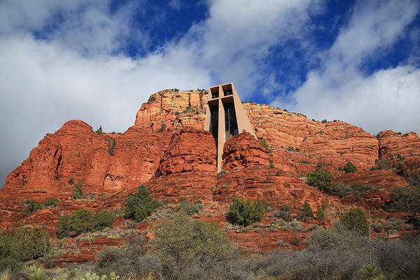 Red Rocks Of Sedona Photograph - Chapel Of The Holy Cross by Donna Kennedy