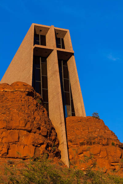 Photograph - Chapel Of The Holy Cross by Ed Gleichman