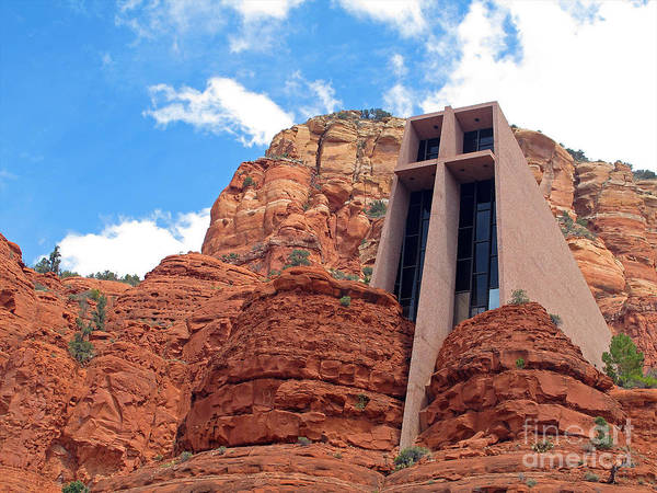 Photograph - Chapel Of The Holy Cross by Kelly Holm