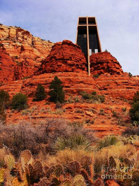 Red Rocks Of Sedona Photograph - Chapel Of The Holy Cross 3 by Marilyn Smith