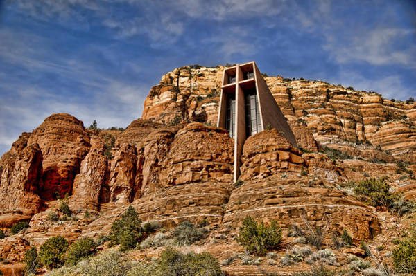 Red Rocks Of Sedona Photograph - Chapel Of The Holy Cross - Sedona Az by Jon Berghoff