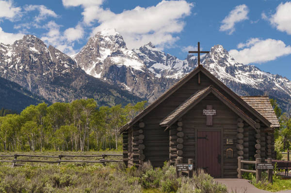 Wall Art - Photograph - Chapel Of The Transfiguration - Grand Teton National Park Wyoming by Brian Harig