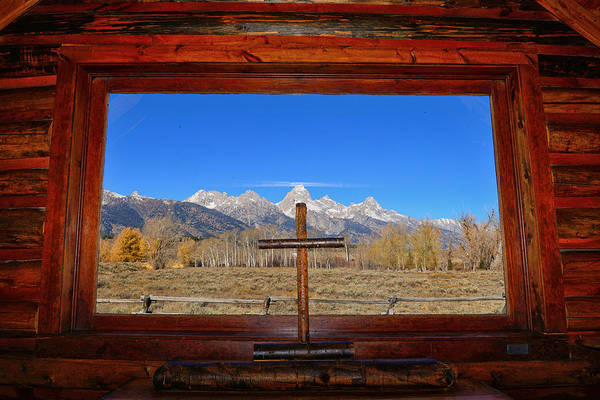 Photograph - Chapel View by Greg Norrell