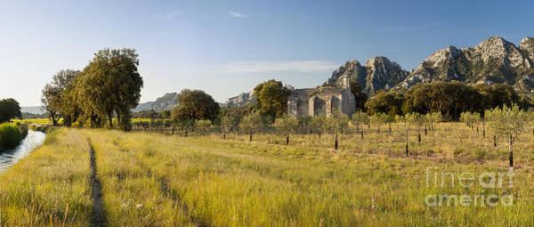 Chapelle Photograph - Chapelle De Romanin by Brian Jannsen