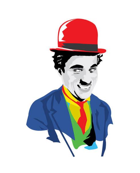Wall Art - Digital Art - Chaplin by Andy Donald