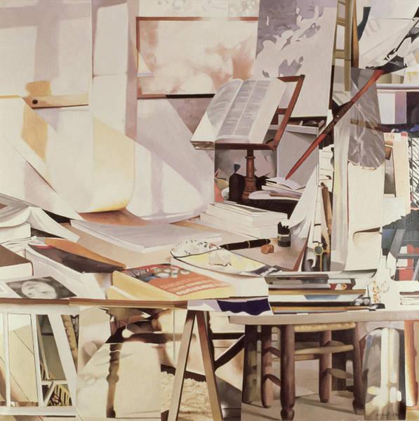 Jeremy Photograph - Chapter, 1990 Oil On Canvas by Jeremy Annett