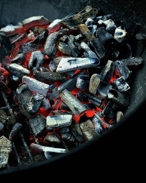 Barbecue Photograph - Charcoal On A Grill by Romulo Yanes
