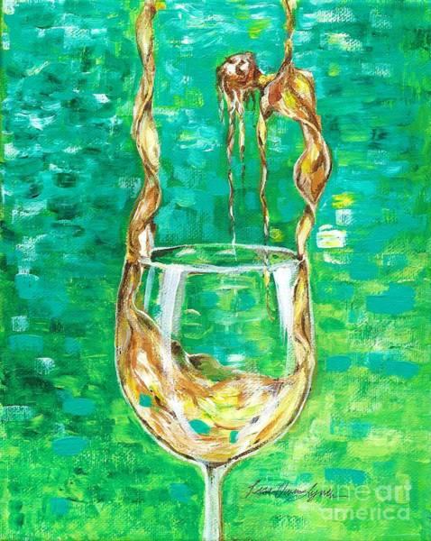 Painting - Chardonnay by Lisa Owen-Lynch