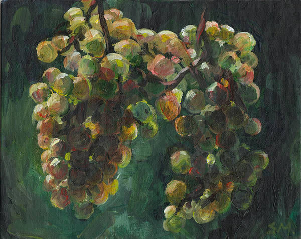 Painting - Chardonnay by Susan Moore