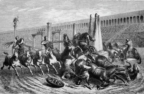 Wall Art - Photograph - Chariot Racing by Bildagentur-online/th Foto/science Photo Library