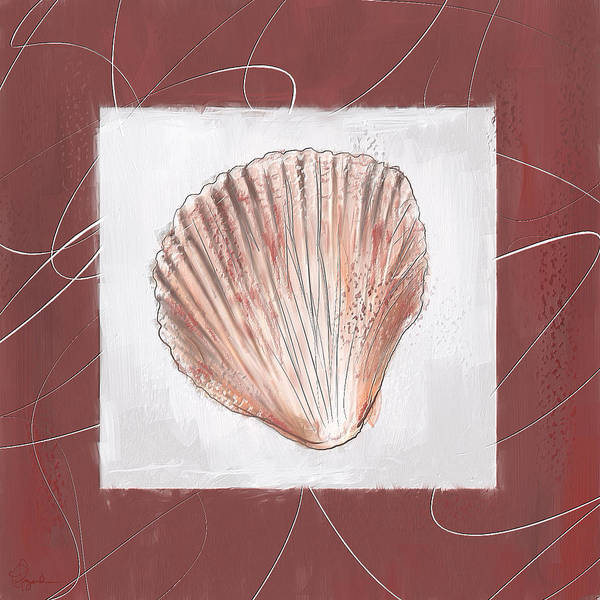 Wall Art - Painting - Charismatic Caribbean- Marsala Pantone 18-1438 by Lourry Legarde