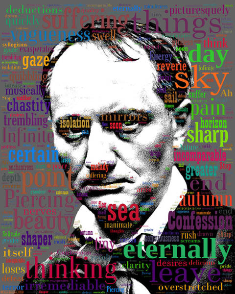 Digital Art - Charles Baudelaire by Eric Edelman