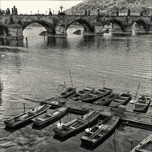 Praha Wall Art - Photograph - Charles Bridge by Robert Fawcett