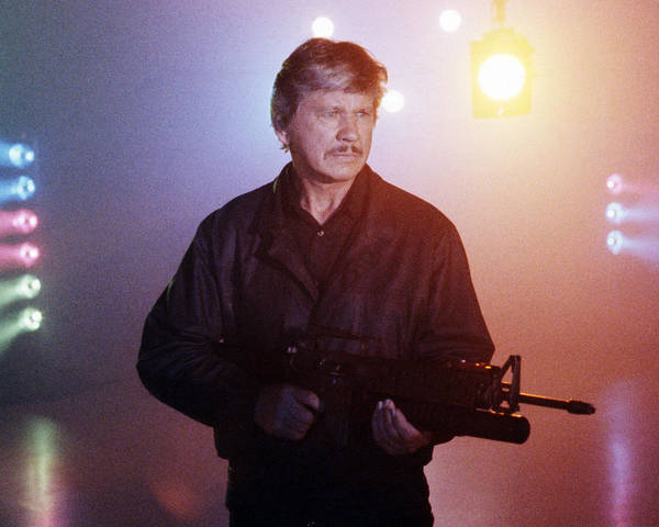 Wall Art - Photograph - Charles Bronson In Death Wish 4: The Crackdown  by Silver Screen