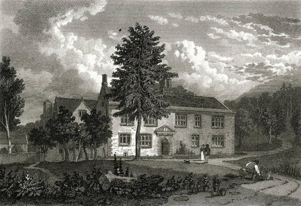 Parodist Wall Art - Drawing - Charles Cotton  Beresford Hall, Home by Mary Evans Picture Library