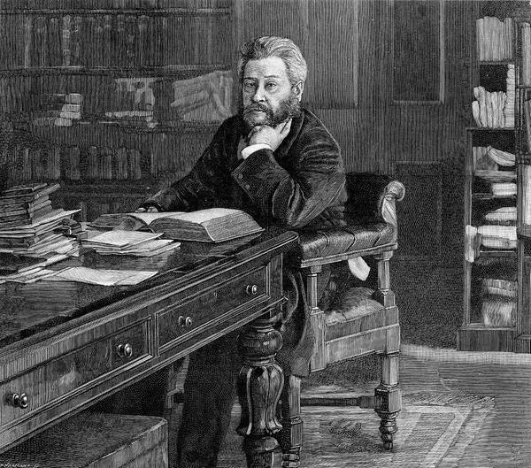 Wall Art - Drawing - Charles Hadden Spurgeon (1834 - 1892) by Mary Evans Picture Library