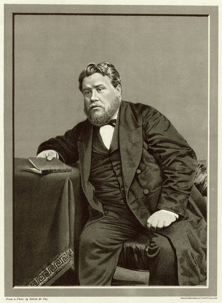 Wall Art - Photograph - Charles Haddon Spurgeon  English by Mary Evans Picture Library