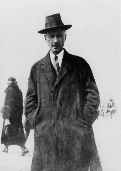 Ives Photograph - Charles Ives 1874-1954.  To License For Professional Use Visit Granger.com by Granger
