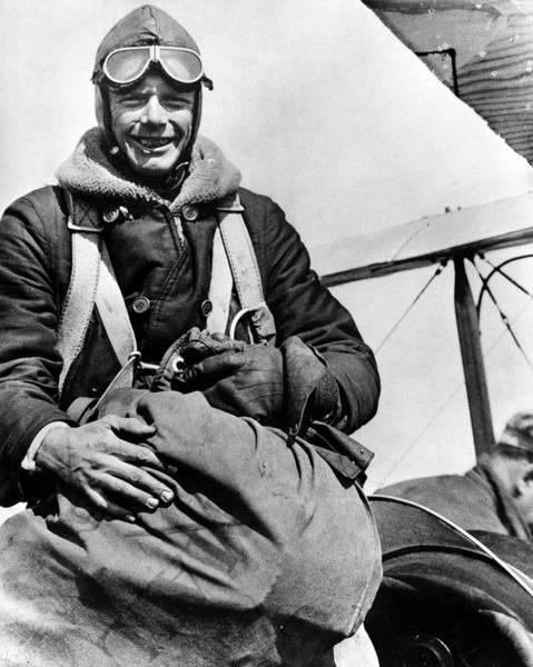Photograph - Charles Lindbergh (1902-1974) by Granger