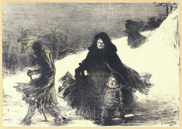 Wall Art - Drawing - Charles-lucien Léandre French, 1862 - 1930. Noël by Litz Collection