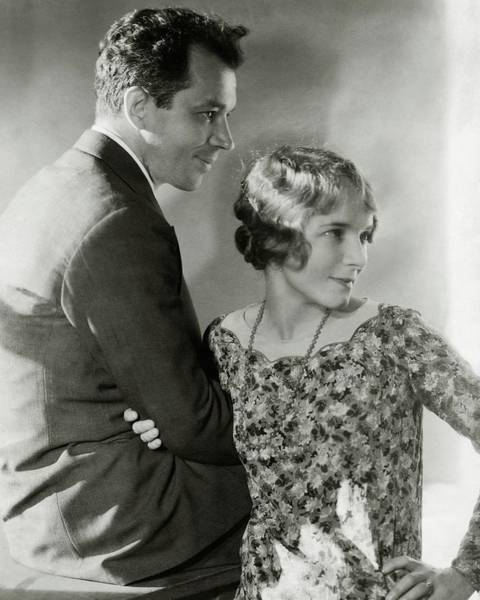 Floral Photograph - Charles Macarthur And Helen Hayes by Edward Steichen