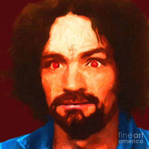 Photograph - Charles Manson 20141213 Square by Wingsdomain Art and Photography