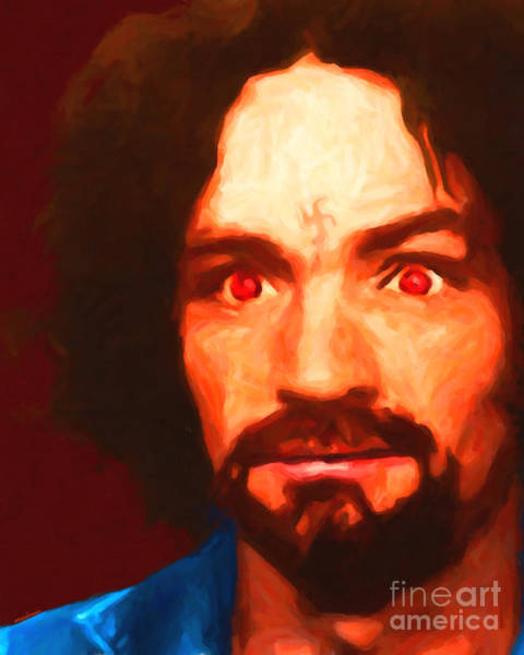 Photograph - Charles Manson 20141213 by Wingsdomain Art and Photography