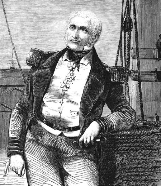 Charles Napier Art Print by Collection Abecasis