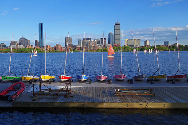 Photograph - Charles River Sailboats by Toby McGuire