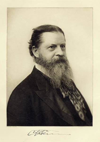 Head And Shoulders Photograph - Charles Sanders Peirce by Miriam And Ira D. Wallach Division Of Art, Prints And Photographs/new York Public Library