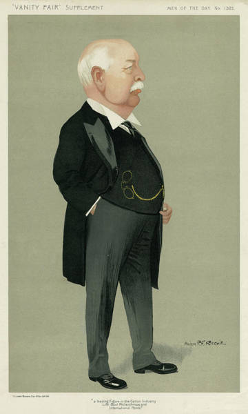 Macara Wall Art - Drawing - Charles Wright Macara  Businessman by Mary Evans Picture Library