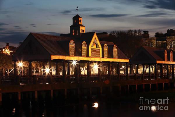 Photograph - Charleston At Night by John Rizzuto