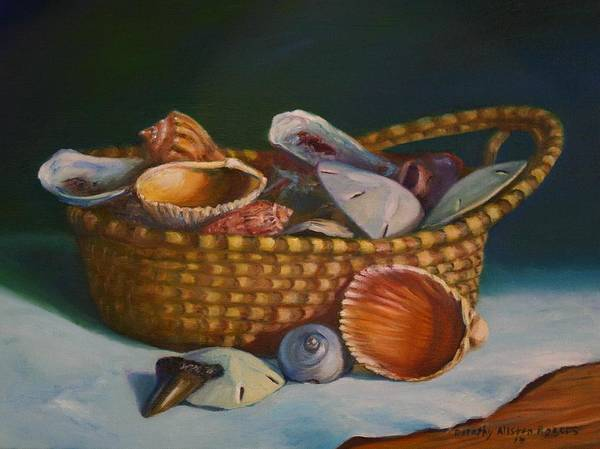 Painting - Charleston Basket by Dorothy Allston Rogers