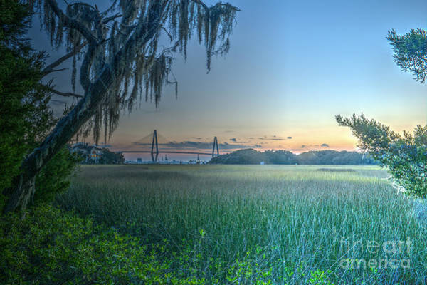 Photograph - Charleston Bridge View by Dale Powell