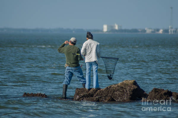 Photograph - Charleston Fishing by Dale Powell