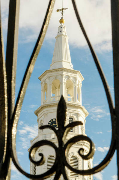 St Michaels Church Photograph - Charleston, South Carolina by Michael Defreitas