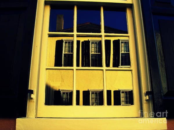 Photograph - Charleston Window Reflections by Susanne Van Hulst