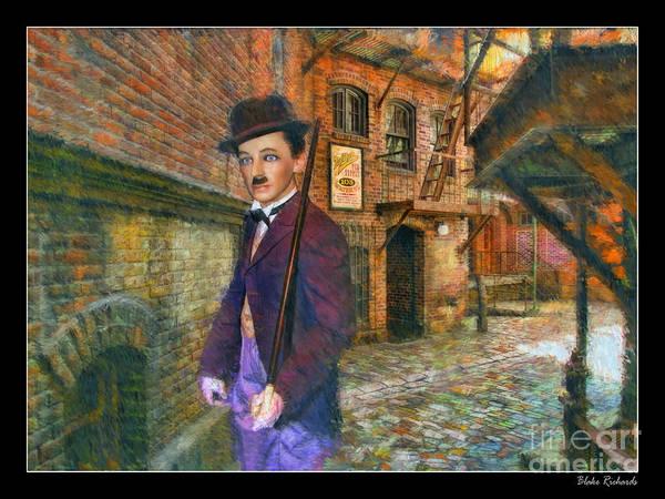 Photograph - Charlie Chaplin Of Niles by Blake Richards