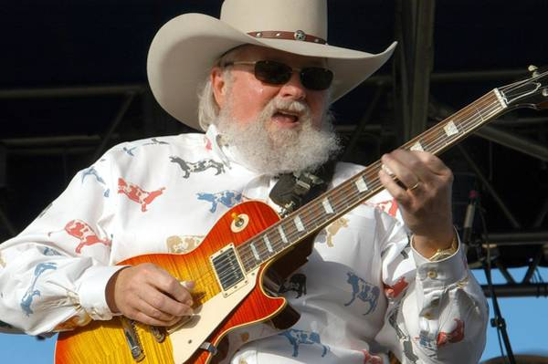 Photograph - Charlie Daniels by Barbara Snyder