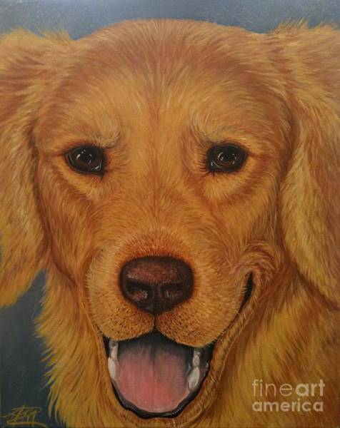 Painting - Charlie Golden by Ana Marusich-Zanor