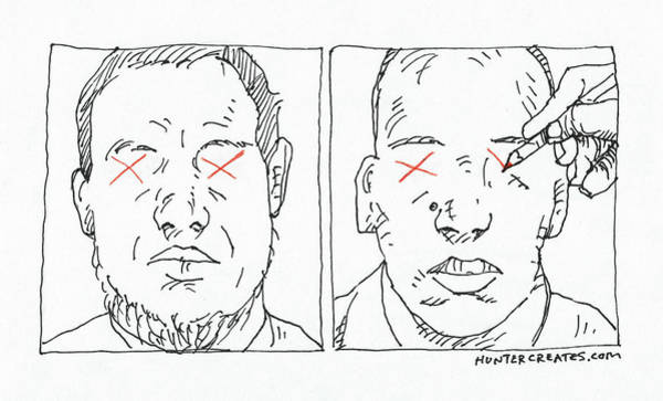 Political Cartoon Painting - Charlie Hebdo Justice by Steve Hunter