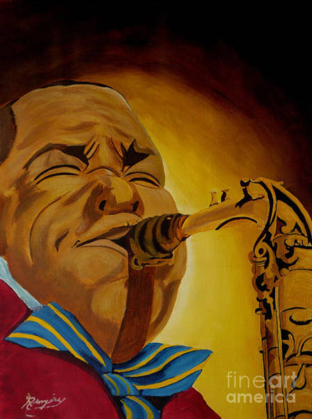 Wall Art - Painting - Charlie Parker-legends Of Jazz by Anthony Dunphy