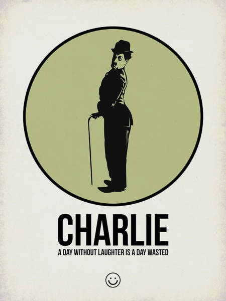 Wall Art - Digital Art - Charlie Poster 1 by Naxart Studio