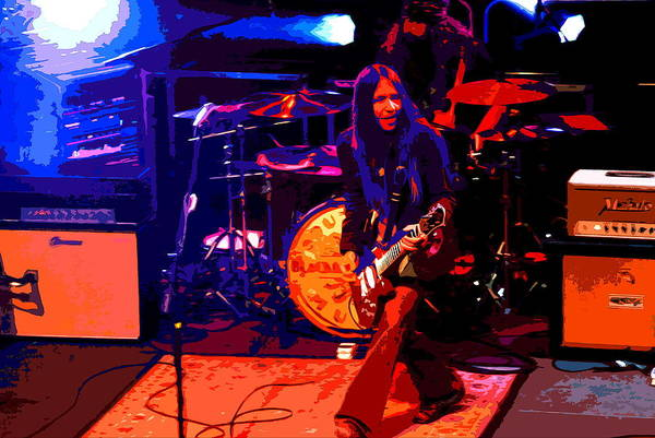 Photograph - Charlie Of Blackberry Smoke 3 by Ben Upham
